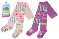 Детские колготы для девочек, свинка Пеппа, Польша р-р 92 -122см