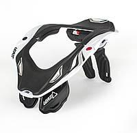 Защита шеи LEATT Brace GPX 5.5 бело-черная, L/XL