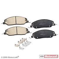 Колодки дисковые передние MOTORCRAFT BR1081