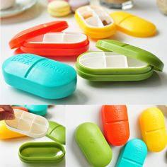 Контейнер для таблеток Капсула