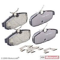 Колодки дисковые задние  MOTORCRAFT BR1082