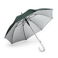 Зонт трость полуавтомат двухцветный Зеленый