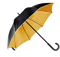 Зонт трость двухцветный Дракула Gold