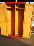"""Шкаф деревянный двухдверный """"с сединой"""", фото 2"""