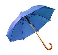 Зонт трость полуавтомат Ярко-синий