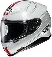"Шлем Shoei NXR LUNAR TC-1 white\red ""L"", арт. 1112113, фото 1"