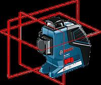 Линейный лазерный нивелир Bosch GLL 3-80P+вкладка под L-BOXX