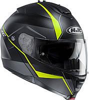 "Шлем HJC ISMAX II MINE blackyellow  """"L"""" 115874"""""