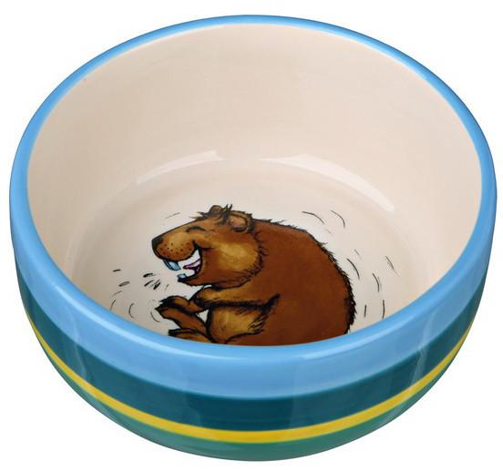 Миска керамическая для морской свинки Trixie, 250мл/11см