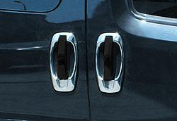 Накладка вокруг ручек (4 шт, нерж) - Opel Combo (2012+)