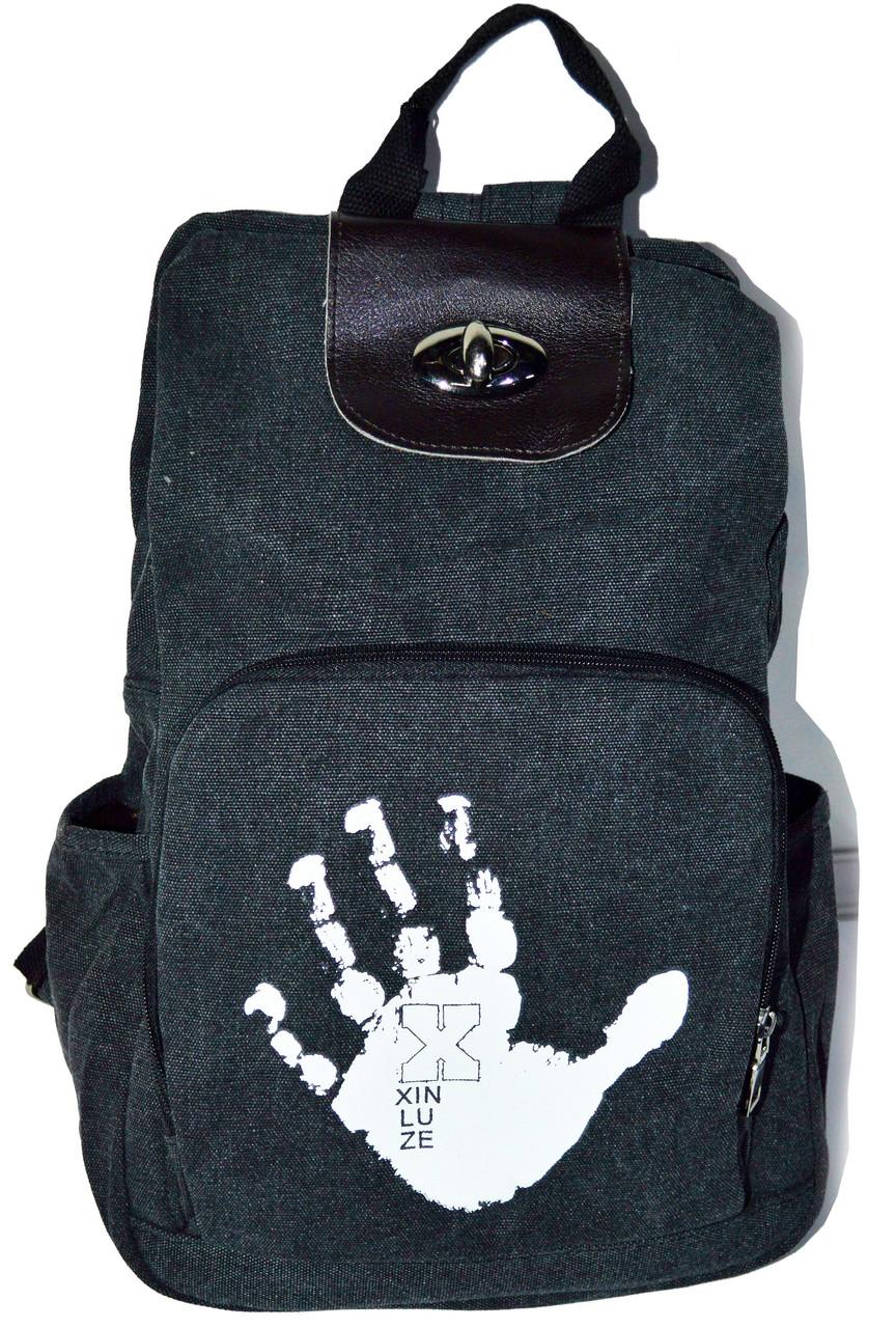fe06223d1809 Женский рюкзак. Сумка рюкзак из холста. Портфель. СР11-1, цена 390 грн.,  купить в Бердянске — Prom.ua (ID#187564022)