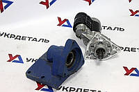 Комплект переоборудования с ПД на стартер (МТЗ-80, ЮМЗ-6, Т-150, Нива) переходник + стартер