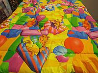 Одеяло стеганое чистая шерсть бязь премиум Цифры