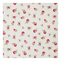 Отличная ткань для штор розовые цветы