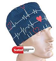 Медицинская шапка с рисунком
