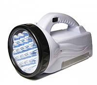 Ручной аккумуляторный фонарь на 28 диодов BL 222