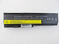 Lenovo ThinkPad X200, 5200mAh, 6cell,  10.8V,  Li-ion, черная,