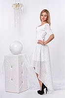 Очень красивое белое платье