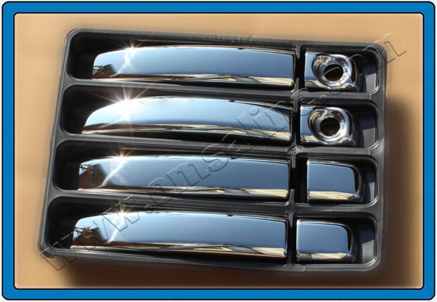 Накладки на ручки (4 шт, пласт) - Opel Movano (2010+)