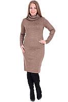 Платье женское большого размера теплое
