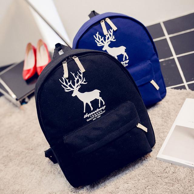 Рюкзак с принтом оленя