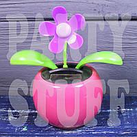 Танцующий цветок Flip-flop с солнечной панелью