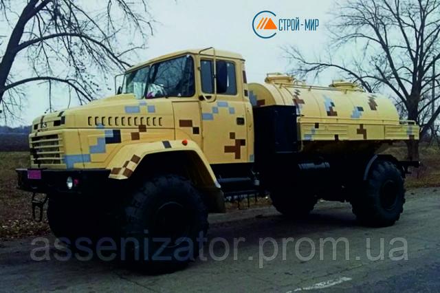 Автоцистерна от КрАЗ — новинка для доставки воды.