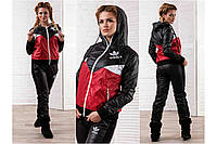 Женский спортивный костюм Адидас -плащевка БАТАЛ