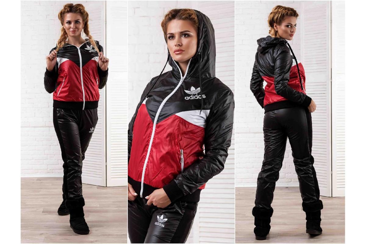 09c5428f20b2 Женский спортивный костюм Адидас -плащевка БАТАЛ, цена 867 грн ...