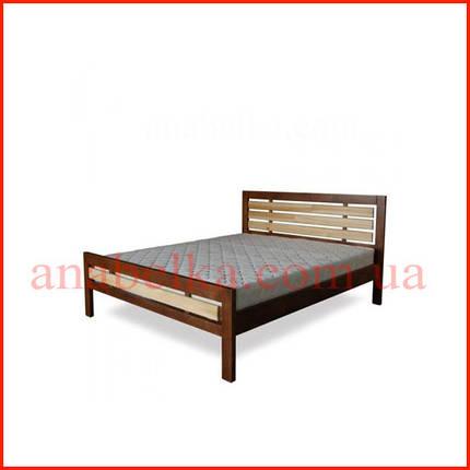 Кровать деревянная   Модерн-1  (Тис), фото 2