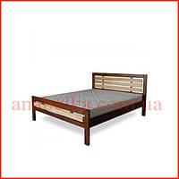 Кровать деревянная   Модерн-1  (Тис)
