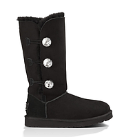 Угги с мехом  UGG Bailey Button Triplet Bling Bla Оригинал