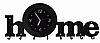 Вешалка Home + часы
