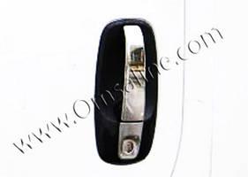 Накладки на ручки (4 шт, нерж) - Opel Vivaro (2001-2015)