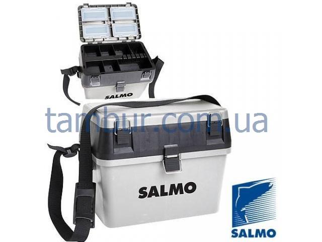 Ящик для зимней рыбалки Salmo низкий