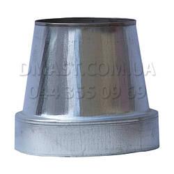 Конус термо для димоходу ф110/180 н/оц