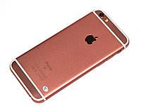 "Смартфон Apple IPhone 6S mtk6582 4.7"" 256Мб/4Гб 2/6 Мп копия 1:1 металл rose gold розовый Гарантия!"