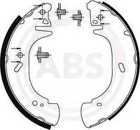 Барабанные тормозные колодки (задние) Renault Master II 1998->2001  —  ABS (Нидерланды) - ABS8941