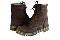 Ботинки М108 нубук коричневые