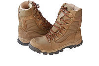 Ботинки М305 нубук койот с кордурой