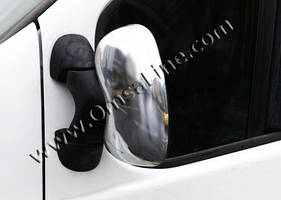 Накладки на зеркала (2 шт) - Opel Vivaro (2001-2015)