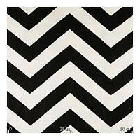 Ткань для штор черно-белый зиг-заг