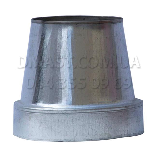 Конус термо для дымохода ф120/180 н/оц