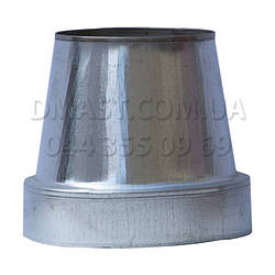 Конус термо для димоходу ф120/180 н/оц