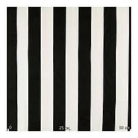 Черно-белая ткань в полоску