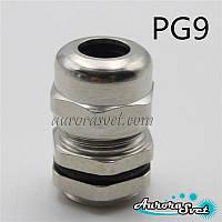 Герметичный кабельный ввод PG9 IP68 металлический водонепроницаемый
