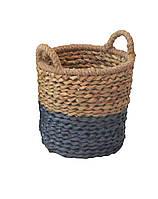Корзина плетеная Natural House, 34*30/35 см, с ручками (FB-08)