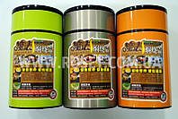 Вакуумный термос для еды на 800 мл (Оранжевый, Салатовый, Оливковый)