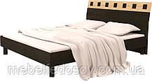 Ліжко двоспальне Ліра МДФ КТ-576 з ламелями (БМФ) 1680х2200х950мм