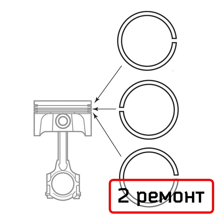 Кольца поршневые Ветерок-8 (2 ремонт) - Мото-Вело «Олимпиец» в Киеве